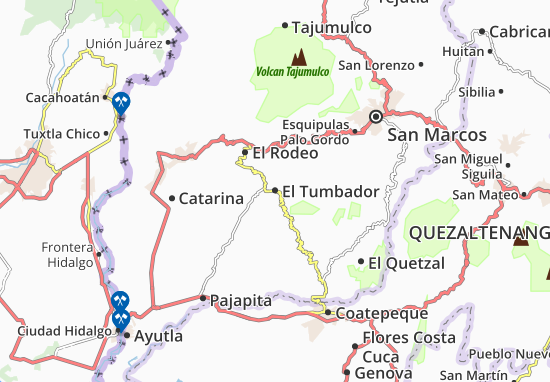 Carte-Plan El Tumbador