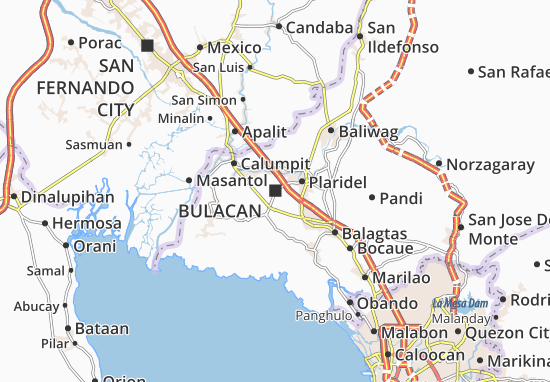 Mappe-Piantine Bulacan
