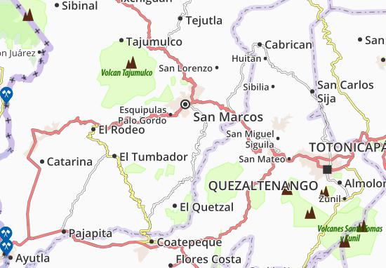 Mappe-Piantine San Cristobal Cucho