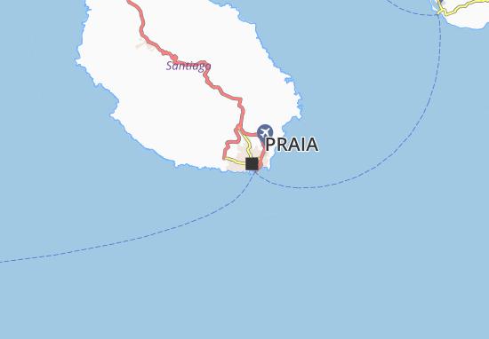 Carte-Plan Achada de Sao António