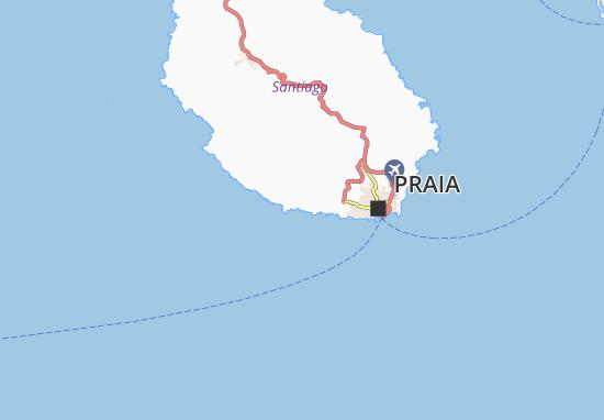 Carte-Plan Cidade Velha
