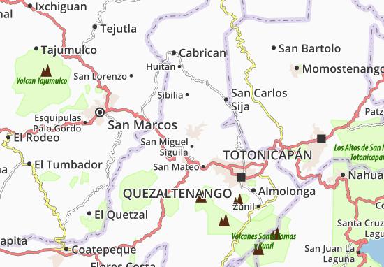 Kaart Plattegrond Cajola