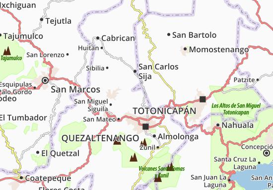San Francisco La Unión Map