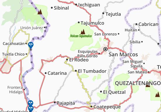 Carte-Plan San Rafael Pie de La Cuesta