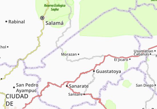 Carte-Plan Morazan