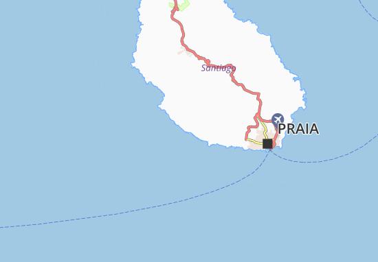 Carte-Plan Porto Gouveia