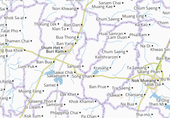 Huai Rat Map