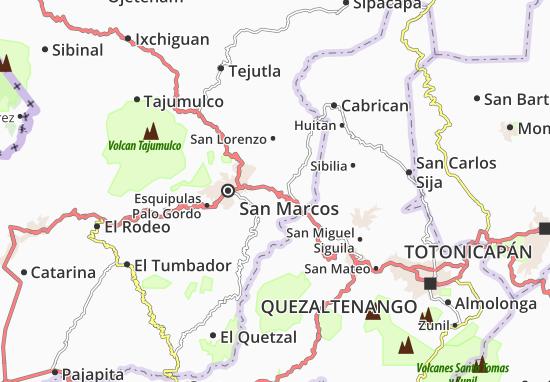 Mapas-Planos San Antonio Sacatepéquez
