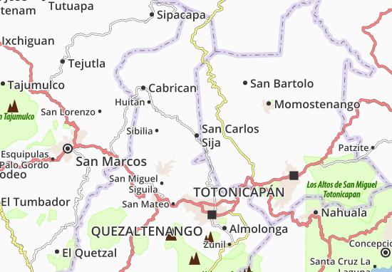 Mapas-Planos San Carlos Sija