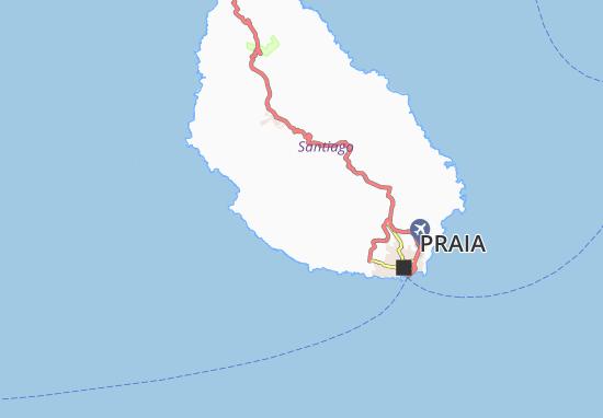 Carte-Plan Ponta d' Achada