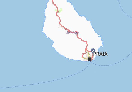 Carte-Plan Quebrada