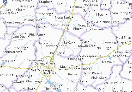 Khwao Sinrin Map