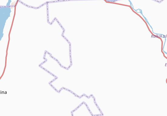 Carte-Plan El-Laota