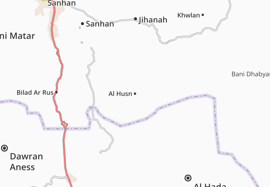 Kaart Plattegrond Al Husn