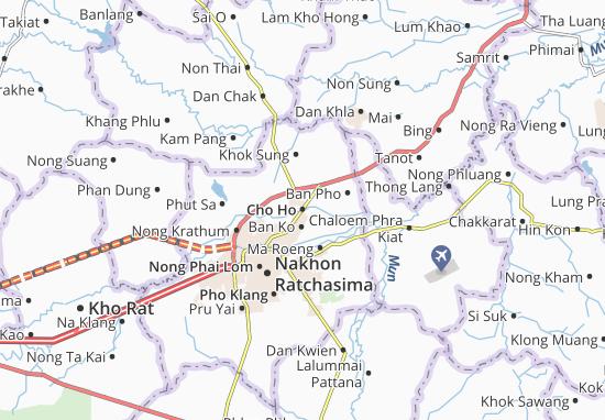 Mappe-Piantine Cho Ho