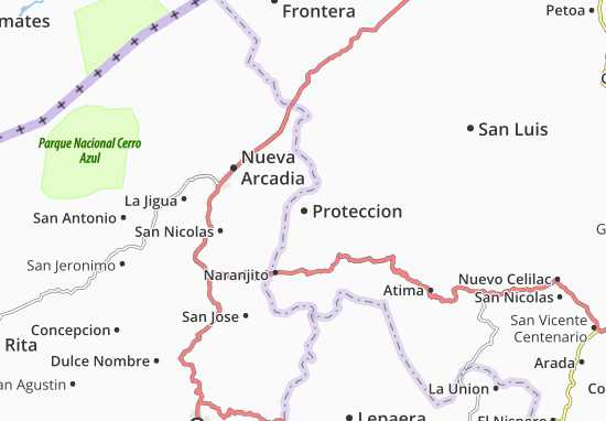 Mapa Plano Proteccion