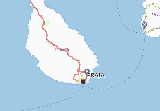 Carte-Plan Nazaré