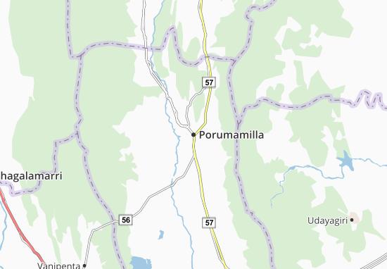 Carte-Plan Porumamilla