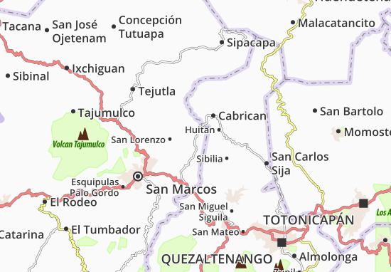 Río Blanco Map