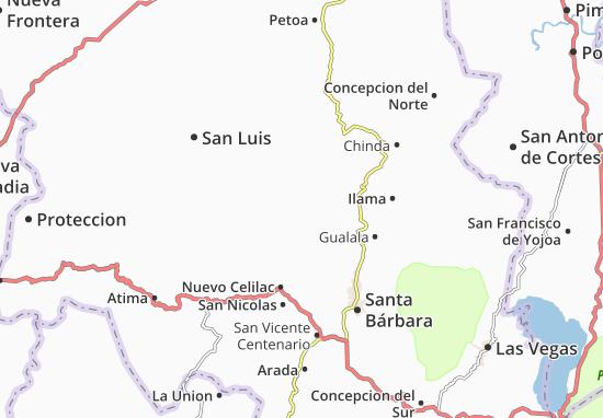 Mapa Plano San Jose de Colinas
