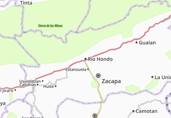 Carte-Plan Río Hondo