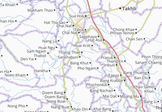 Kaart Plattegrond Sankhaburi