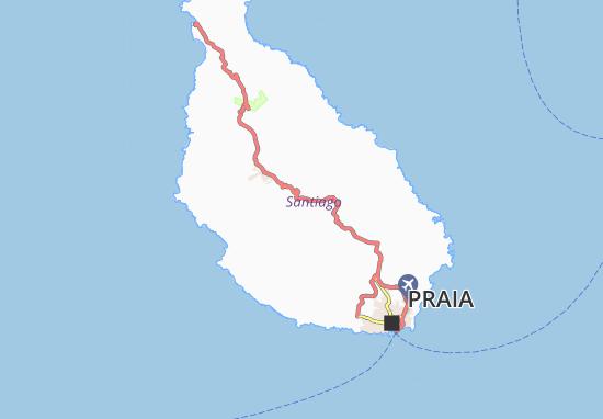 Carte-Plan Monte Varela