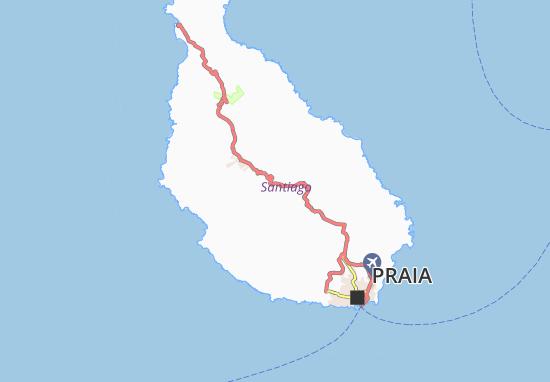 Carte-Plan Varzea da Mora