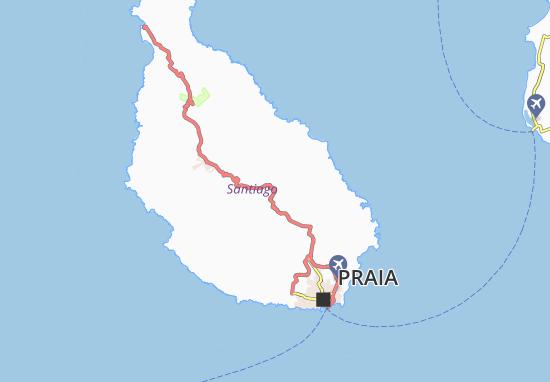 Carte-Plan Poilâo Cabral