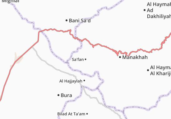 Sa'fan Map