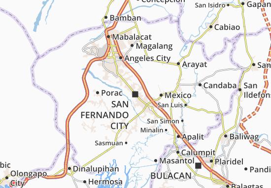 Mappe-Piantine San Fernando City