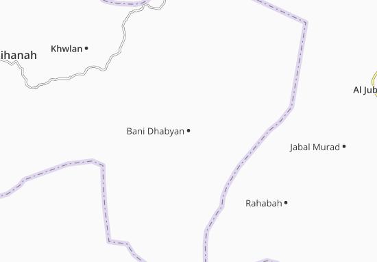 Bani Dhabyan Map