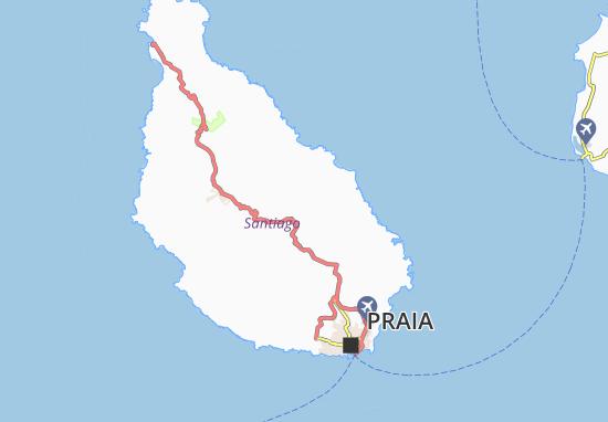 Carte-Plan Achada Costa