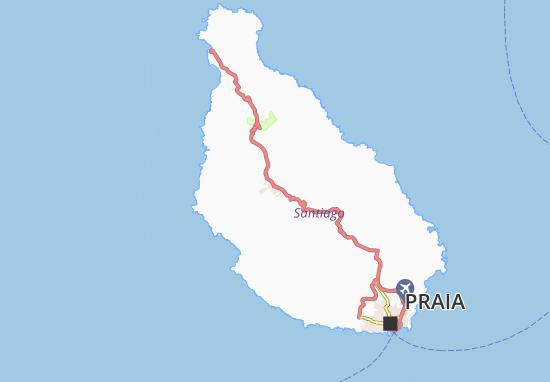 Carte-Plan Ponta da Horta