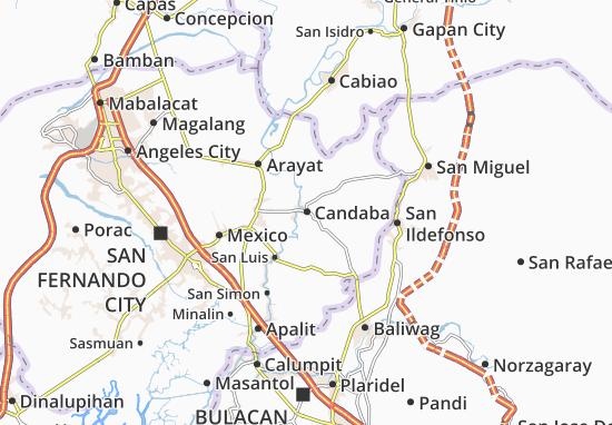 Mappe-Piantine Candaba