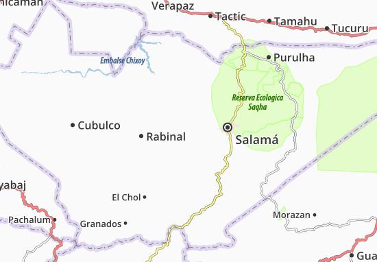 Carte-Plan San Miguel Chicaj