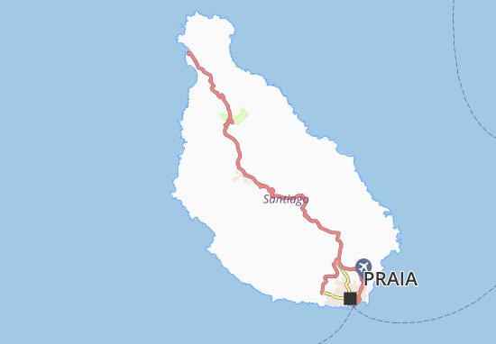 Carte-Plan Ponta Travessa