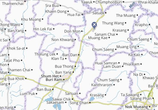 Kaart Plattegrond Ban Dan