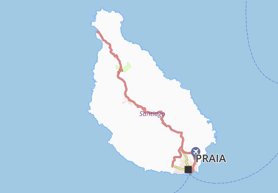 Carte-Plan Pinha Doce