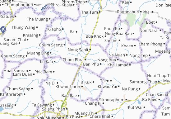 Mapas-Planos Chom Phra