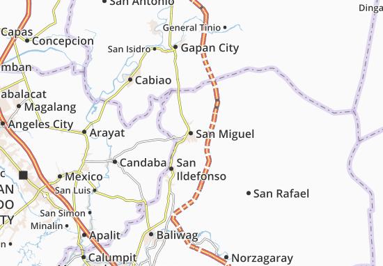 Mappe-Piantine San Miguel