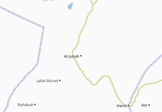 Carte-Plan Al Jubah