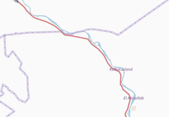 Carte-Plan Udeid-el-Bashakra