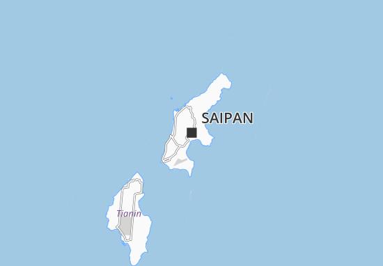 Mapa Plano Saipan