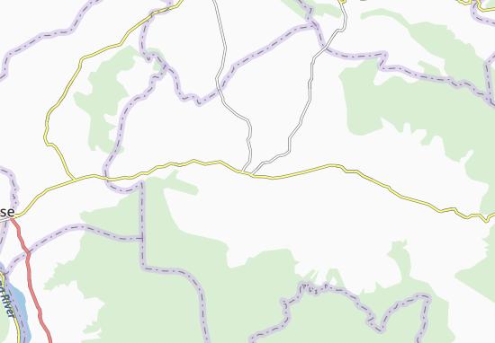 Kaart Plattegrond Muang Pakxong
