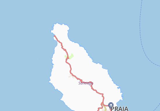 Carte-Plan Ponta do Talho
