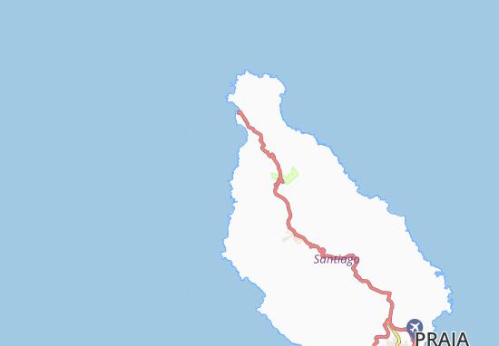 Carte-Plan Châ de Lagoa