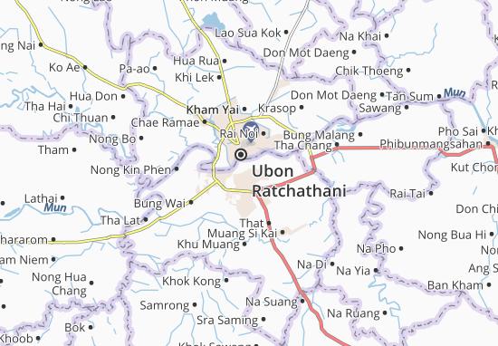 Warin Chamrap Map