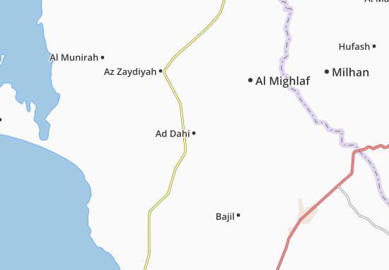 Ad Dahi Map