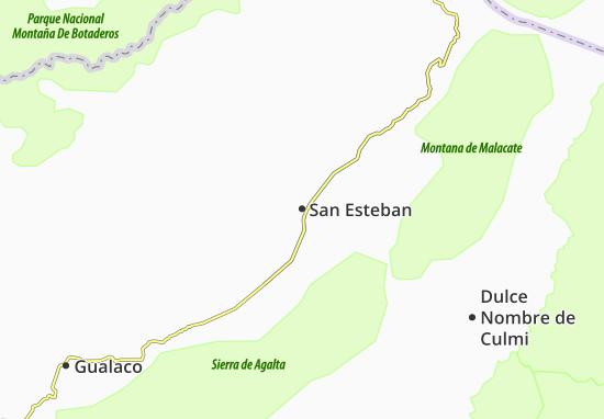 San Esteban Map